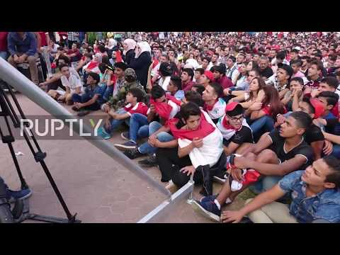 Syria: Damascus fans go wild after stunning draw with Socceroos