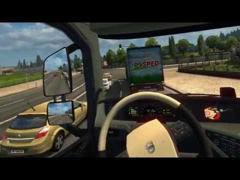 Euro Truck Simulator 2 CV1 for your trucking relaxation : oculus