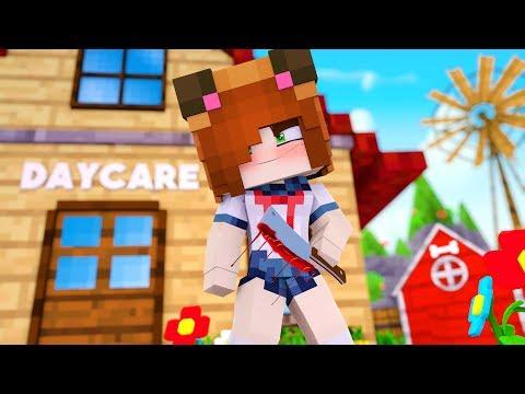 Minecraft Daycare - YANDERE TINA !? (Minecraft Roleplay)