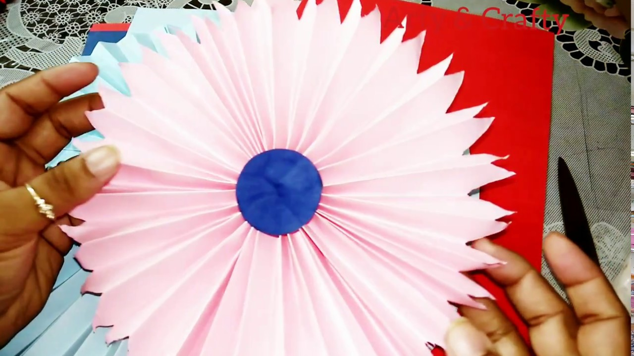 Birthday Decorations How To Make Paper Rosettes Flowers