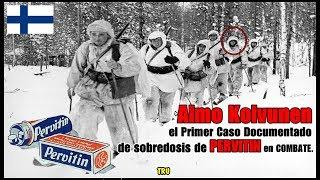 AIMO KOIVUNEN, el primer caso documentado de sobredosis por PERVITIN* en combate!  By TRU
