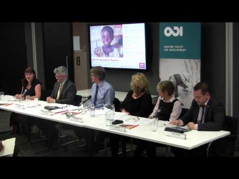 Questions and discussion - World Disasters Report 2013: technology and humanitarian action
