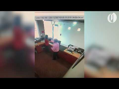 She didn't smile enough so boss grabbed her face, hotel worker says (video)