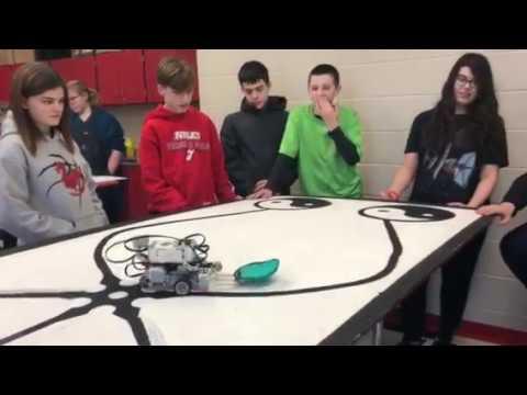Niles Middle School Robotics 2019 Game 1