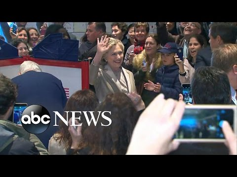 Hillary Clinton Votes | Election 2016
