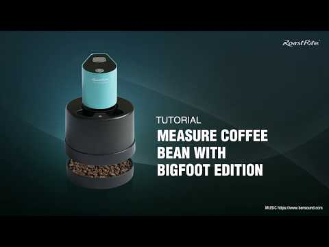 RA-710BF Tutorial: Measuring coffee beans