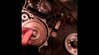 Снятие ротора зажигания на китайском двигателе