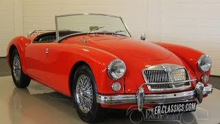 MG MGA 1622 MKII Deluxe disc brakes very good condition -VIDEO- www.ERclassics.com