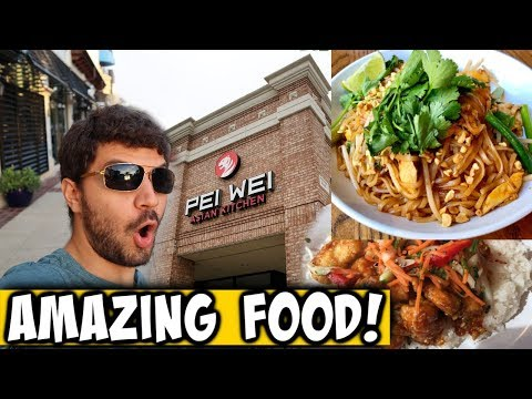 Best Off-Property Dining Near Disney?! Pei Wei Asian Diner Review!