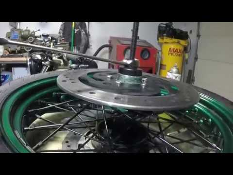 Pit Posse Harley Wheel Bearing and Installer Tool VT102 : Wheel Bearing Install Demo