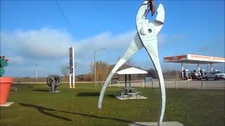 Ken Nyberg Artworks, Vining, Minnesota