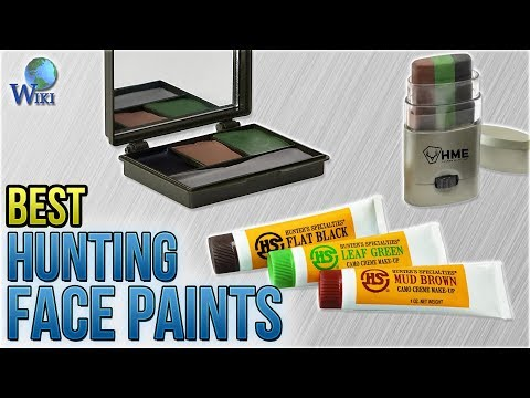 10 Best Hunting Face Paints 2018