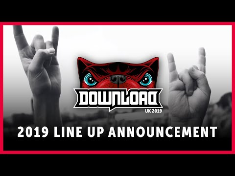 Download Festival 2019 Line Up Announcement