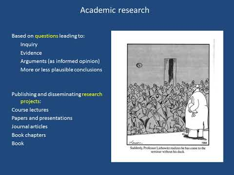 """Public Talk (1/2) : """"Writing About Film: Making Research Para-academic"""" By Prof David Bordwell"""