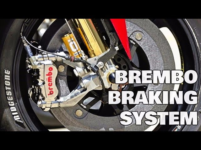 Brembo Braking System Explained Ducati Desmosedici Gp Motogp 2017 Youtube