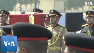 Military Funeral Held For Egypt's Mubarak