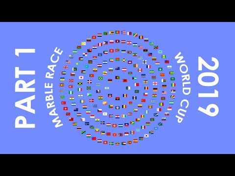 Marble Race World Cup 2019 - Part 1