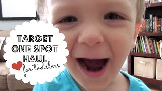 TARGET HAUL | One Spot Toddler Learning Activities