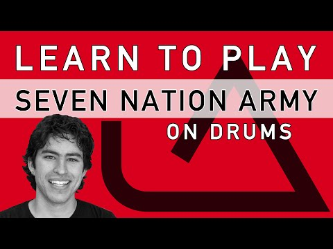 Learn to Play: Seven Nation Army on Drums  MMS
