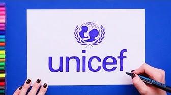 How to draw UNICEF Logo