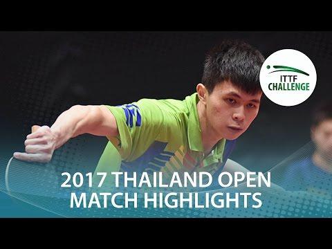 Generate 2017 Thailand Open Highlights: Chen Chun-Hsiang vs Masato Kakitsuka (Qual) Pictures