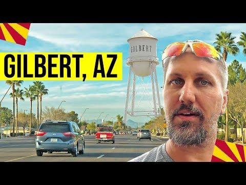 Gilbert, Arizona: Driving Tour & Walk Through Downtown Gilbert | Living In Phoenix, Arizona Suburbs