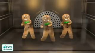 Sexy Gingerbread Men Dance To a Cool Song!