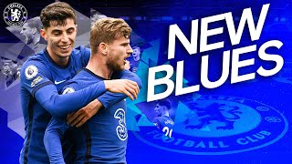 Kai Havertz and Timo Werner's Best Bits For Chelsea So Far | New Blues