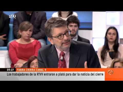 Grupo Atresmedia - Cierre de la RTVV ( Canal 9 )