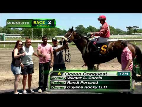 video thumbnail for MONMOUTH PARK 5-27-19 RACE 2