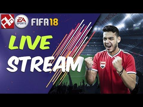 FIFA18 FULL GAME - بث مباشر فيفا ١٨ الكاملة قبل الصدور