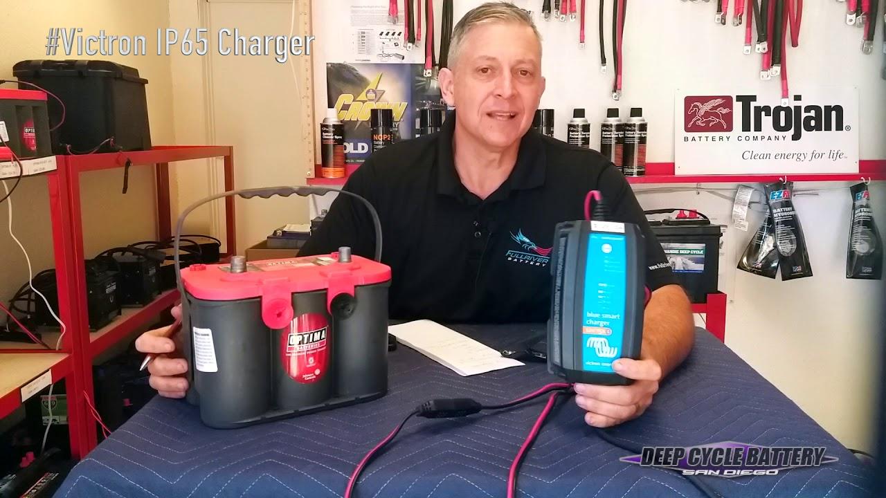 Chargeur de Batterie 12V 7A Victron Blue Solar IP65