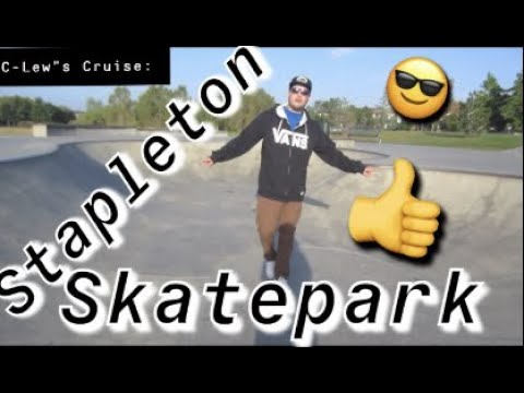 Stapleton Skatepark Denver Co!