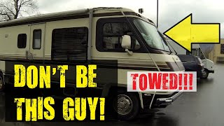 This is why Walmart is banning RV camping, EP. 2 (TOWED AWAY!)