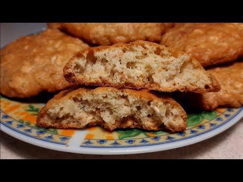 Безумно вкусное овсяное печенье.