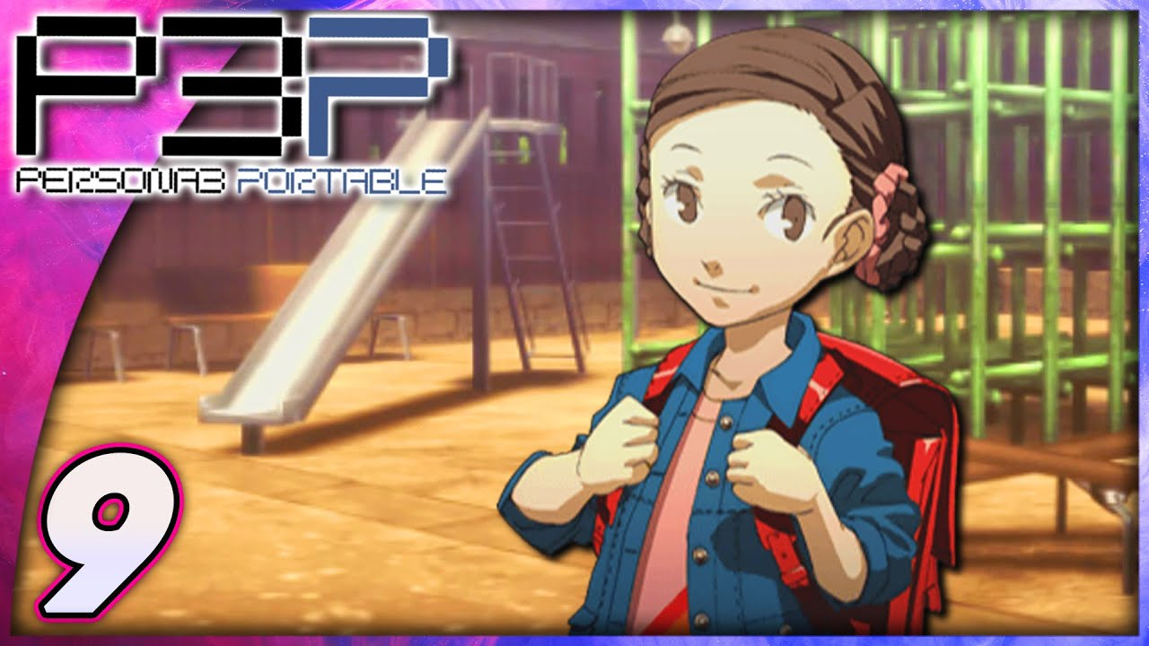 Persona 3 Portable (PSP, Let's Play, Blind) | Playing With Maiko | Part 9
