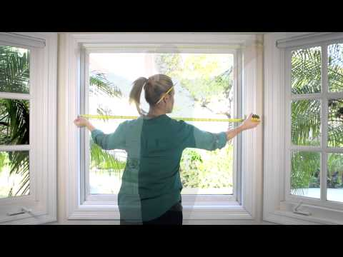 How to Measure your Window for Mini Blinds