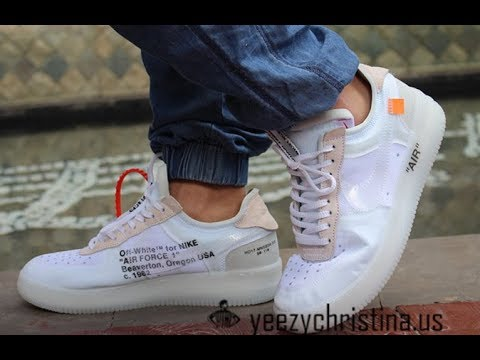 off white air force 1 review
