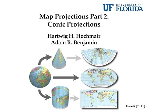 Map Projections Part 2: Conic Projections