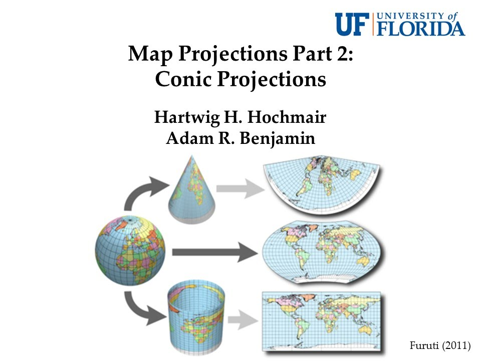 conic projection Conic projection a conic projection of points on a unit sphere centered at consists of extending the line for each point until it intersects a cone with apex which tangent to the sphere along a circle passing through a point in a point.