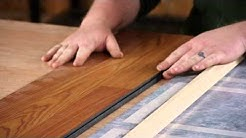Reducer Strips for Laminate : Flooring Repairs