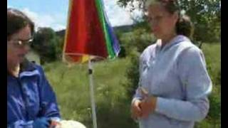 Cycletouring tv Slovakia June 2007 Sonya and Nigel Bates