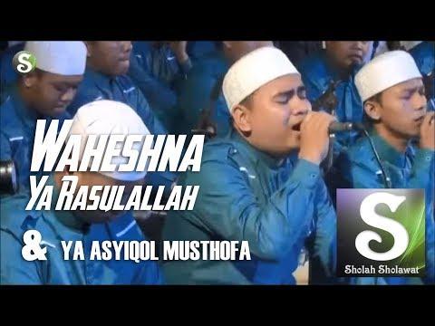 Az-Zahir - Waheshna & Ya Asyiqol (Live Kudus Santri Bersholawat)