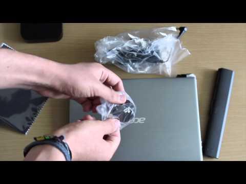 Unboxing   Acer Aspire V5