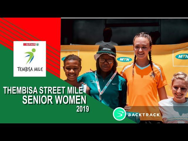 2019 Tembisa Mile Elite Women