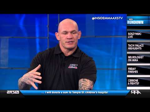 """Krzysztof Soszynski Announces Retirement on """"Inside MMA"""""""