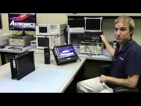 Demonstration of CTS 6000 Series Radio Test Set