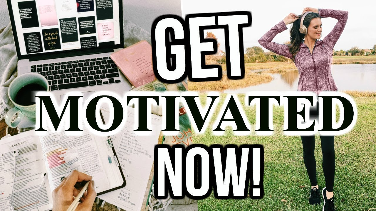 how to get working and motivated
