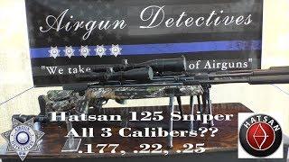 Hatsan 125 Sniper Vortex .177, .22 and .25 Caliber
