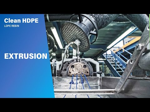 Clean Xpress : Clean HDPE - LDPE resin - Extrusion